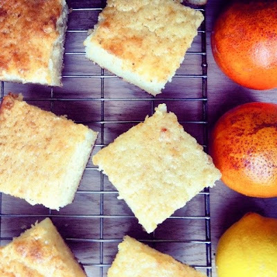 French orange & lemon cake