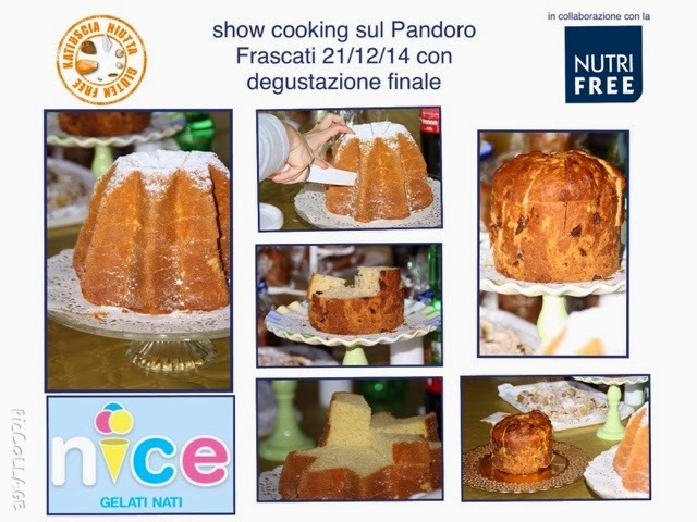 show cooking sul Pandoro