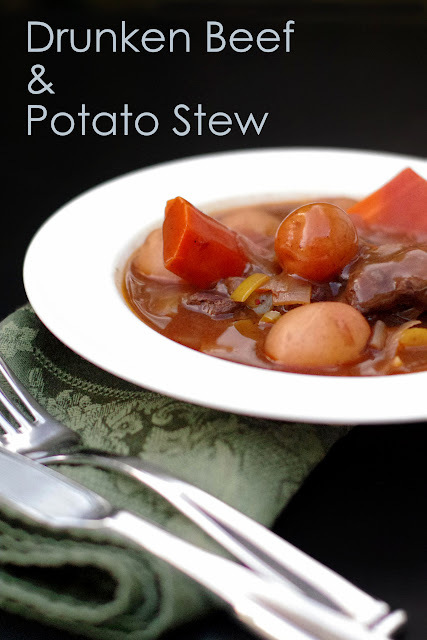 Drunken Beef and Potato Stew