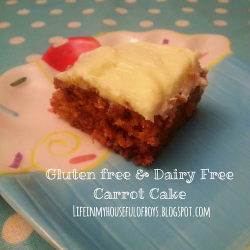 Recipe of the Week - Gluten free & Dairy free Carrot Cake
