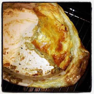 o's mother's chicken and mushroom pie