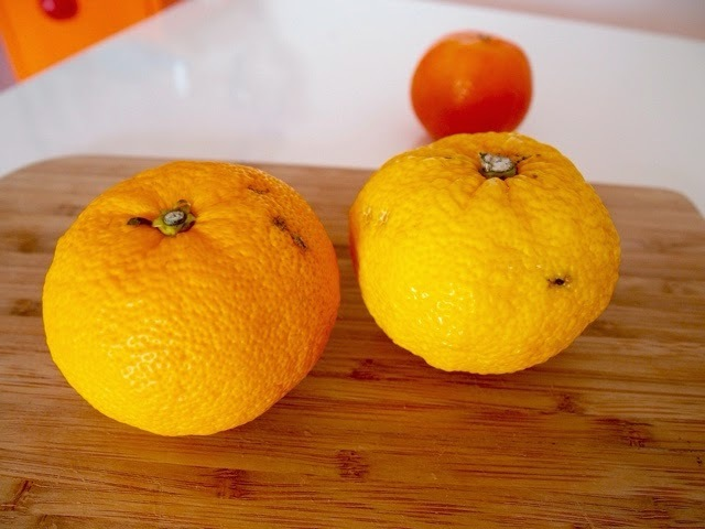 Mermelada de Yuzu, Naranja China