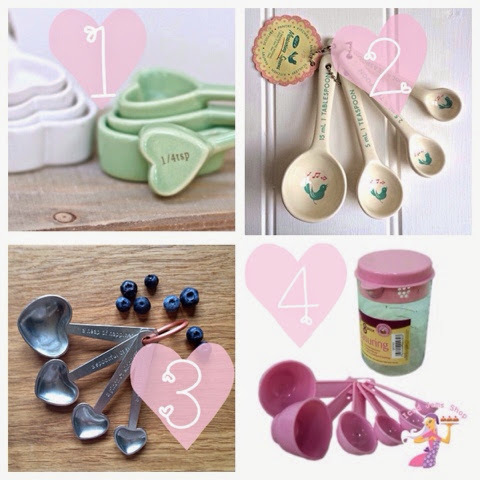 'Fancy Finds' Measuring Spoons