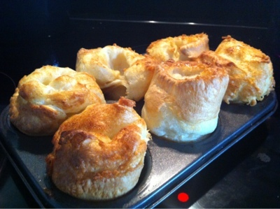 mobile blogger test page - yorkshire puds