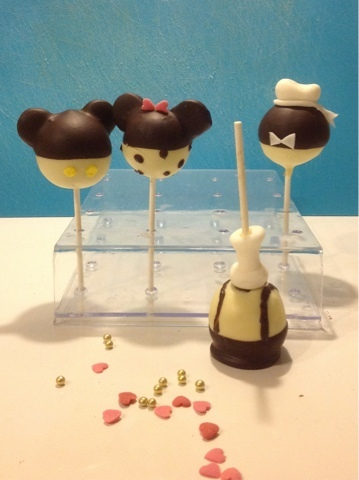 Zwart wit Disney Cake Pops incl How To