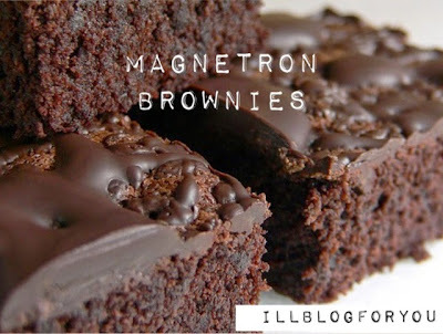 DIY: Magnetron Brownies