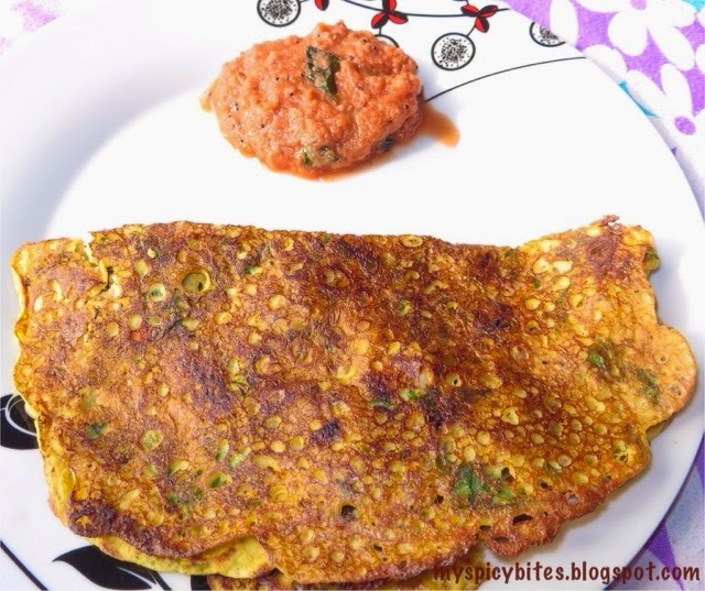 Corn Dosa (Sweet Corn Dosa)