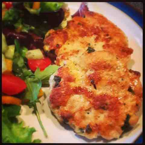 Chicken patties a la Nigel Slater!