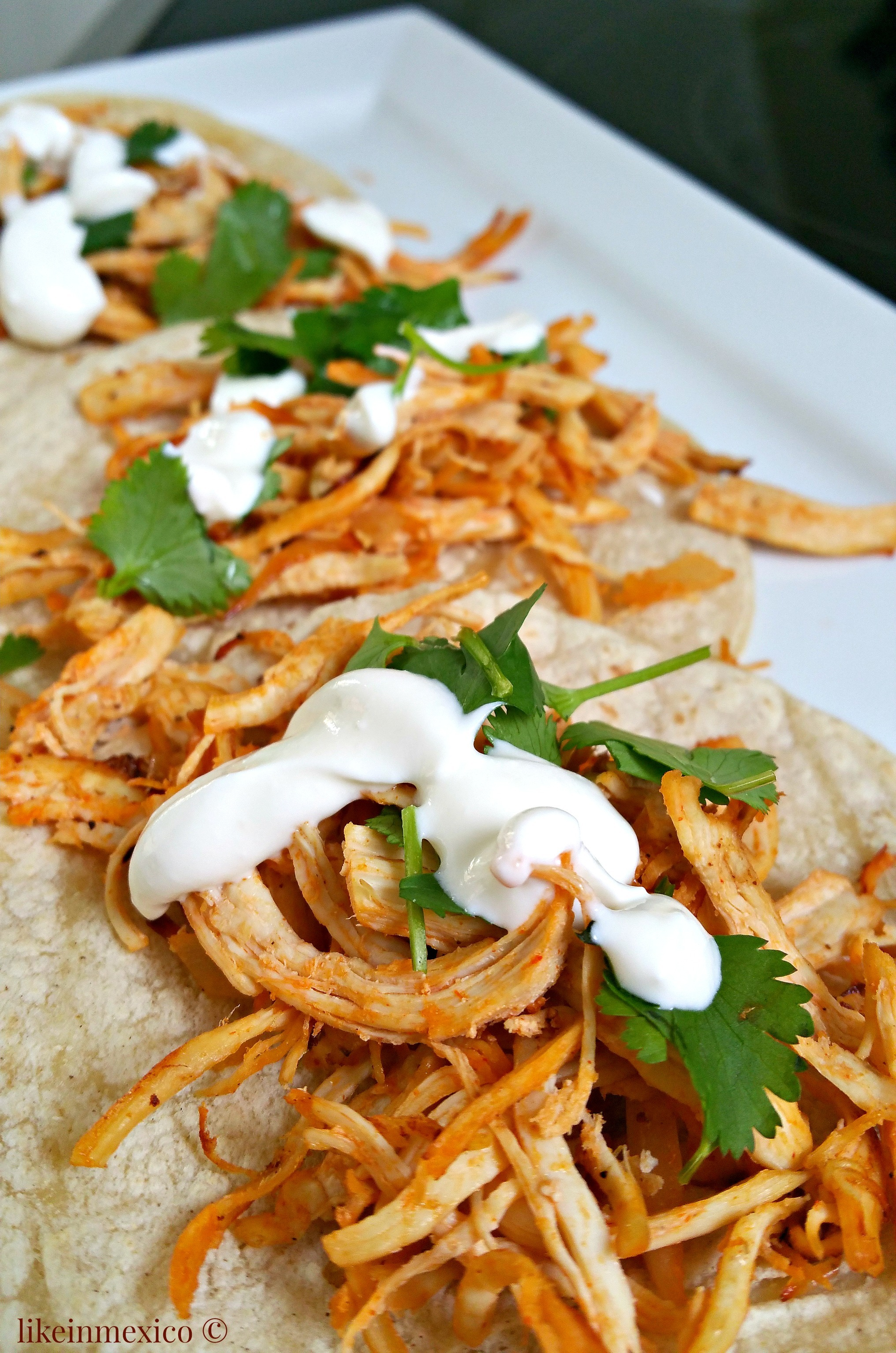 Easy and Tasty TEX-MEX Chicken Tacos | Tacos de Pollo TEX-MEX