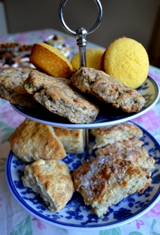 Afternoon Tea-vecka del 2: Scones