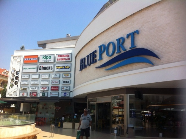 Blue port och turkisk meze