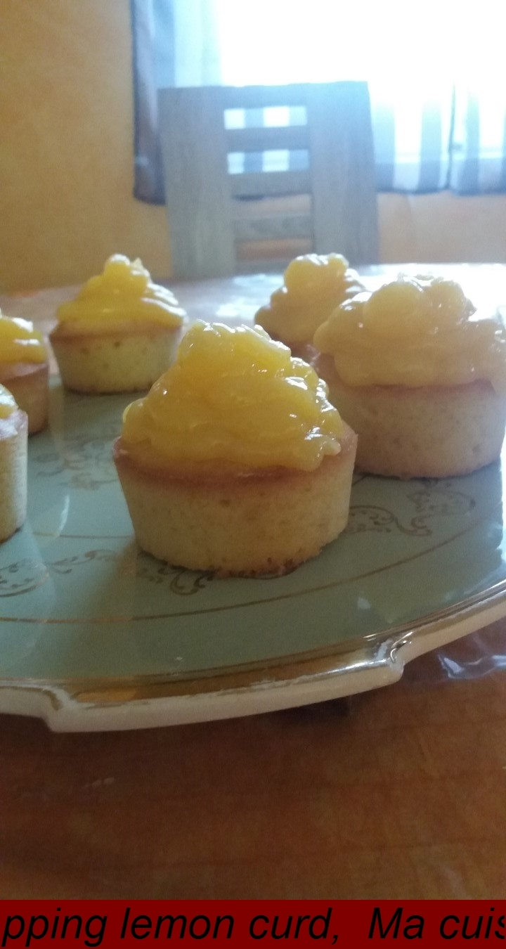 CUPCAKE TOPPING LEMON CURD