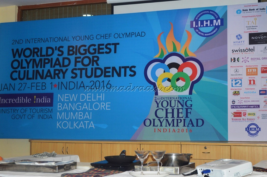 Curtain Raiser for Young Chef Olympiad 2016