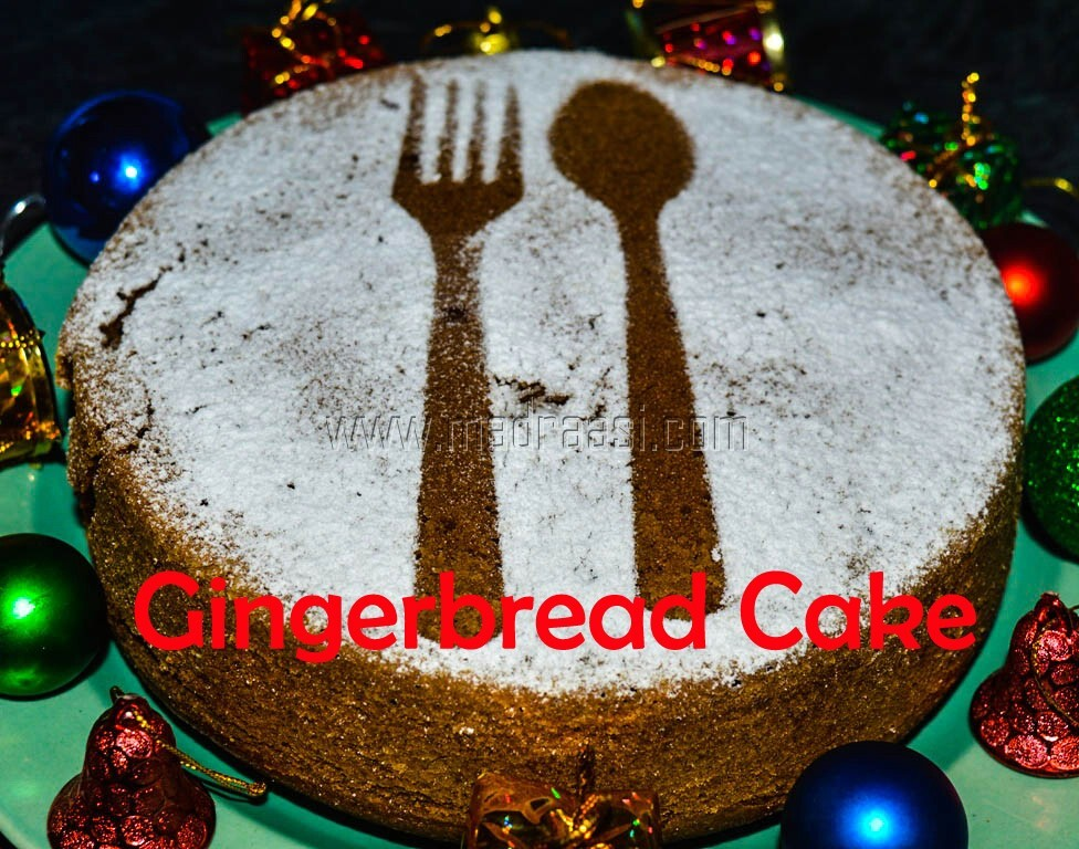 Gingerbread Cake with VIDEO