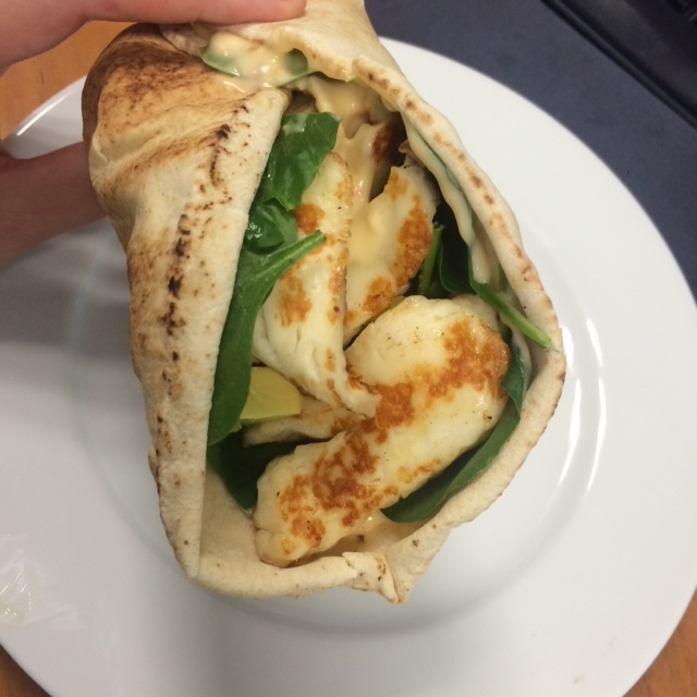 Lunchtips: halloumiwrap