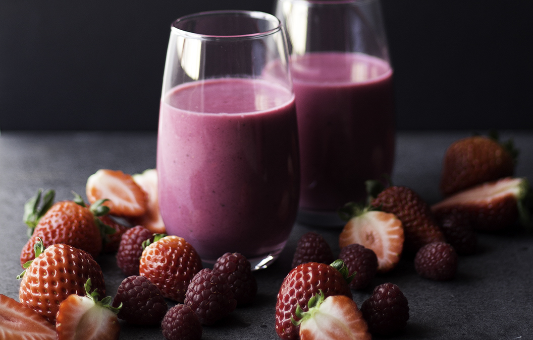 Batido de Beterraba e Frutos Vermelhos | Beetroot & Red Fruits Smoothie