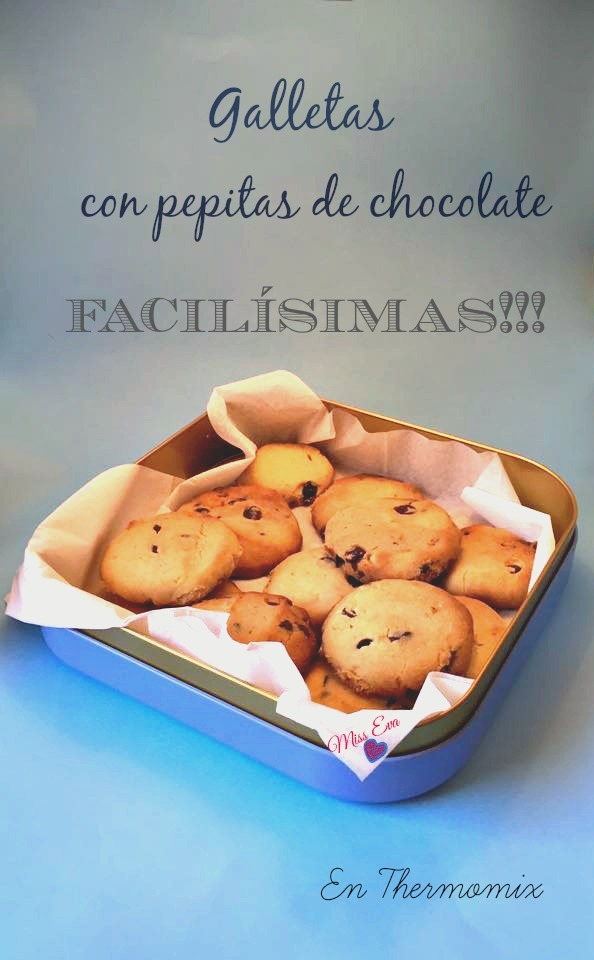 Galletas con pepitas de chocolate en Thermomix