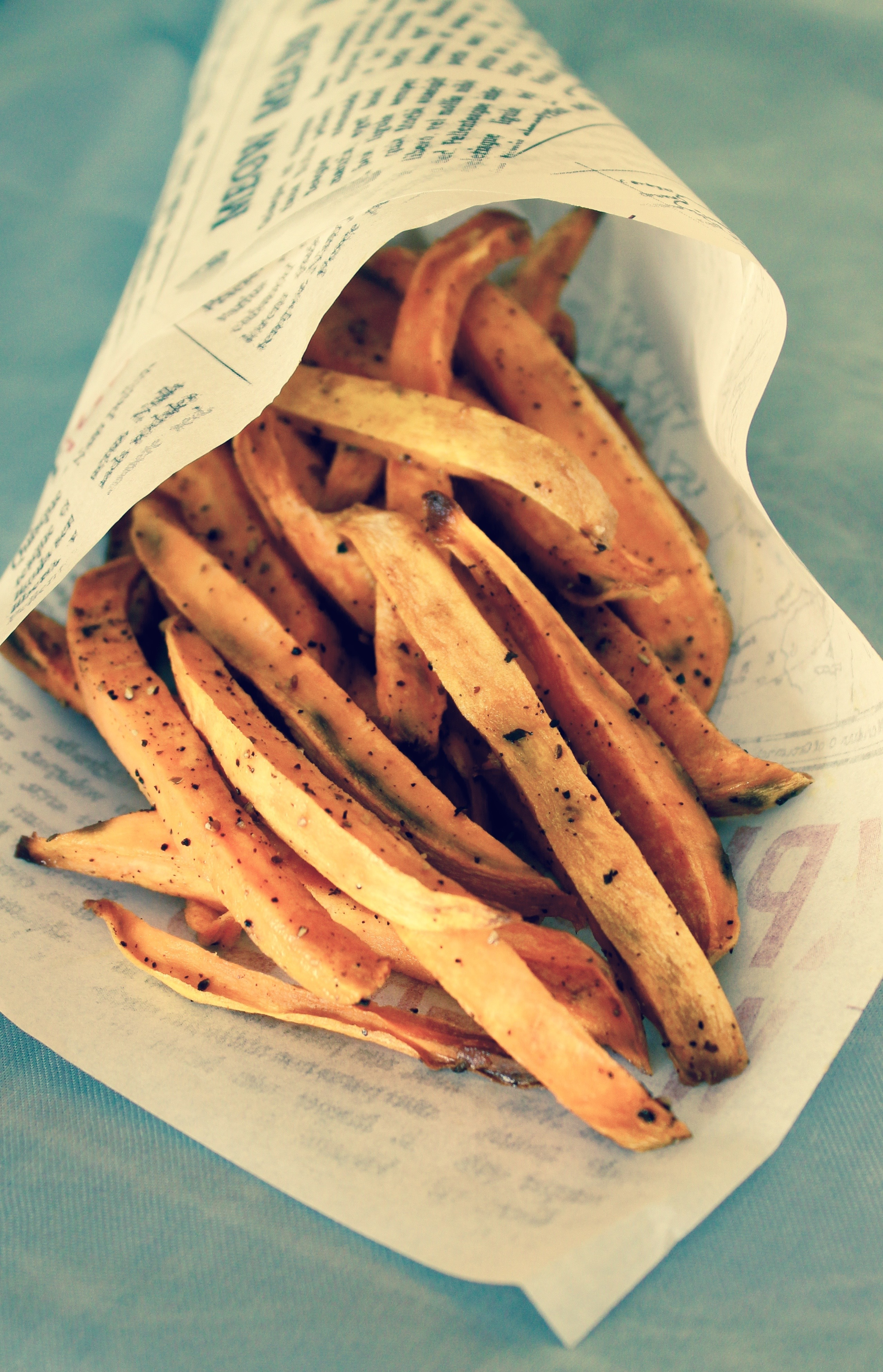Søtpotet fries