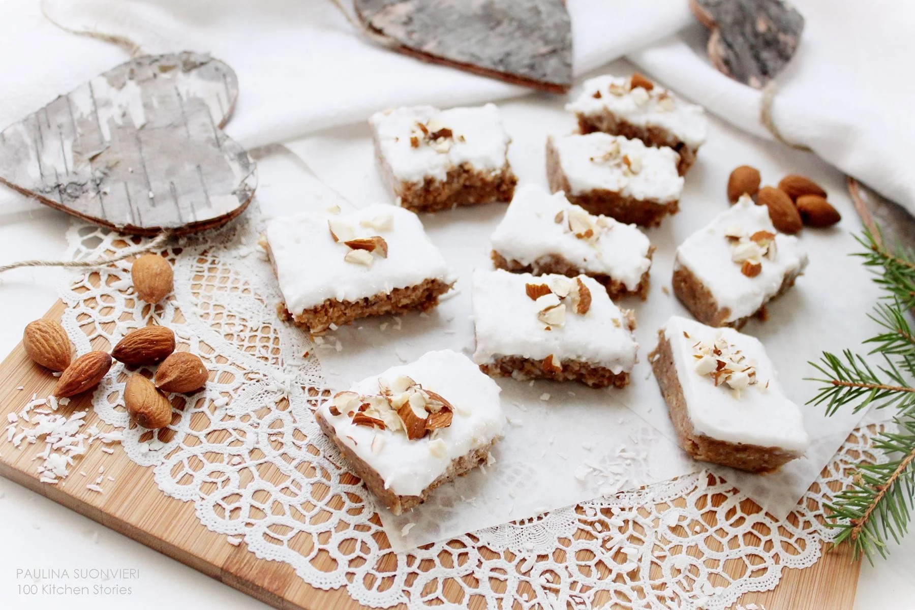 RAW Fig and Gingerbread Squares