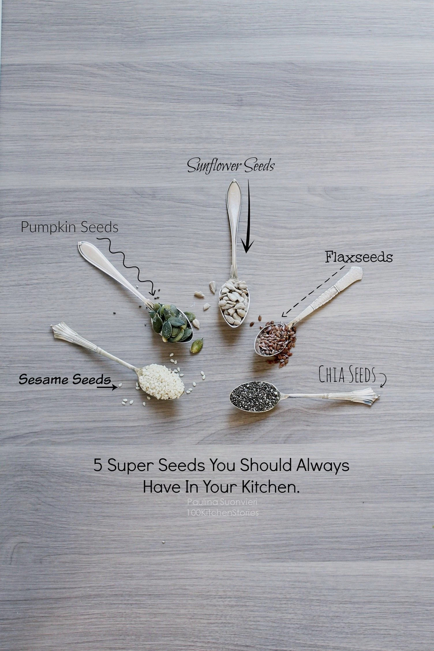 5 Super Seeds You Should Always Have In Your Kitchen.