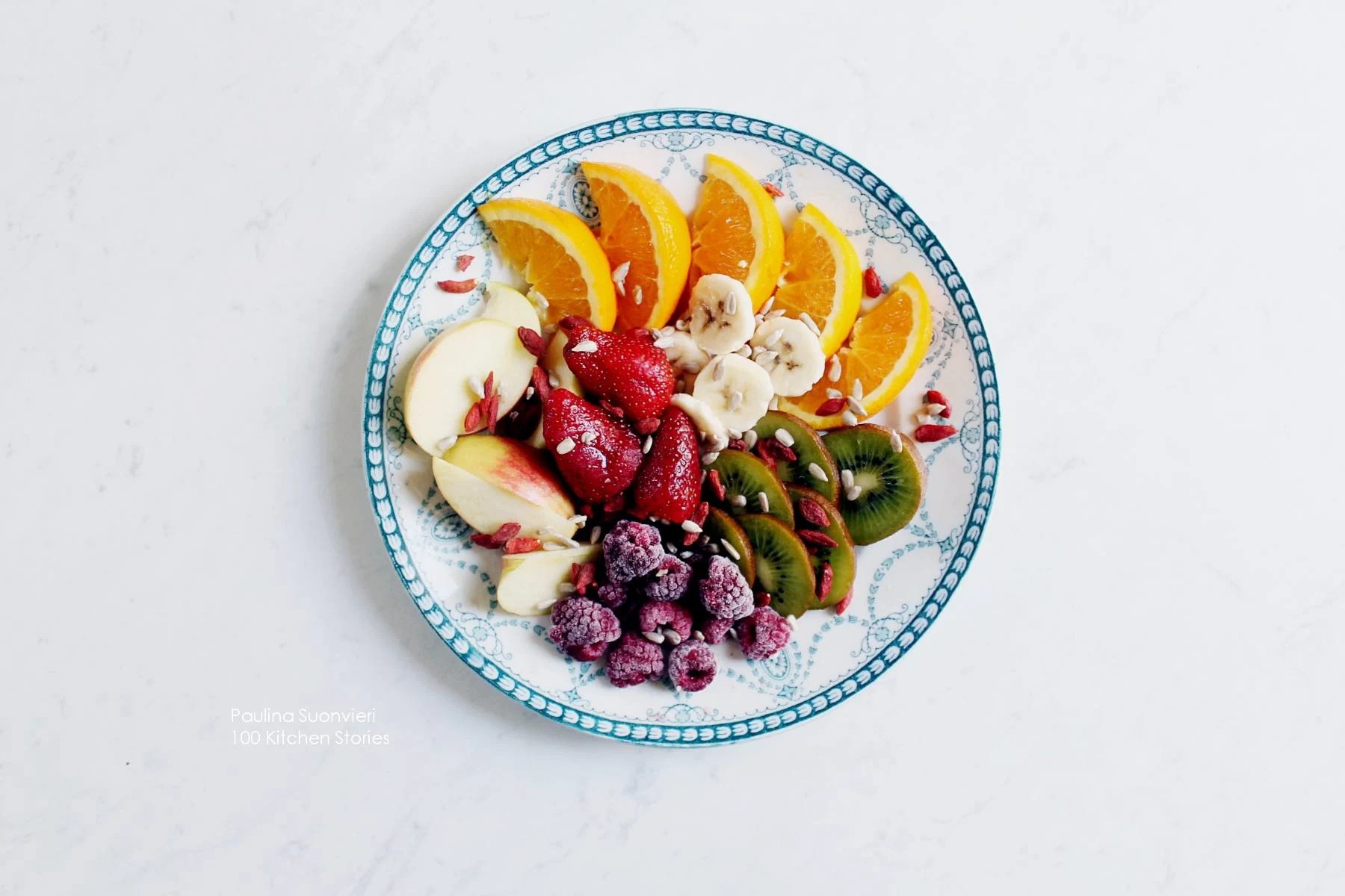 It's Beginning to Taste a Lot Like Summer // Fruit and Berry Salad