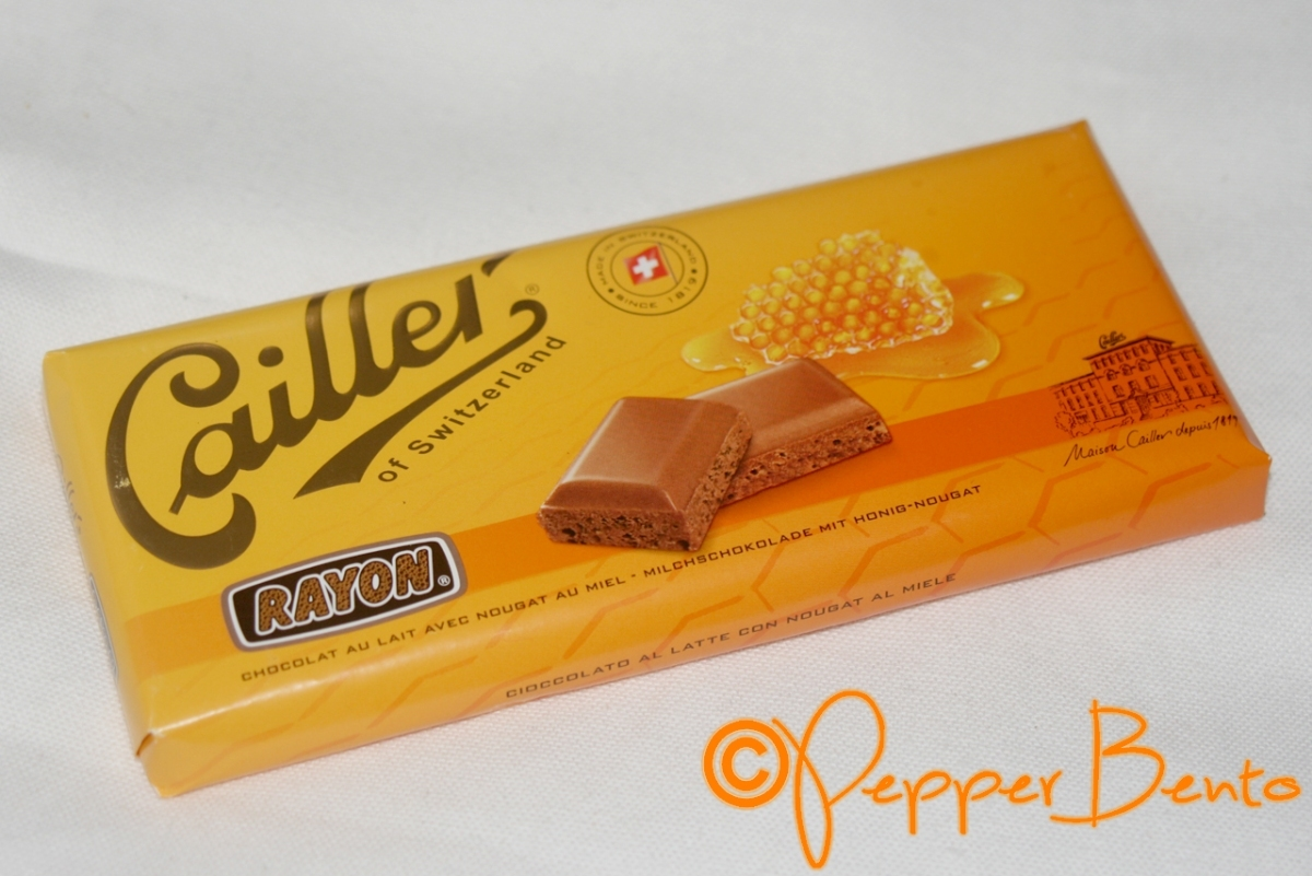 Eating From England: A Look At Cailler Chocolate with Honey Nougat!