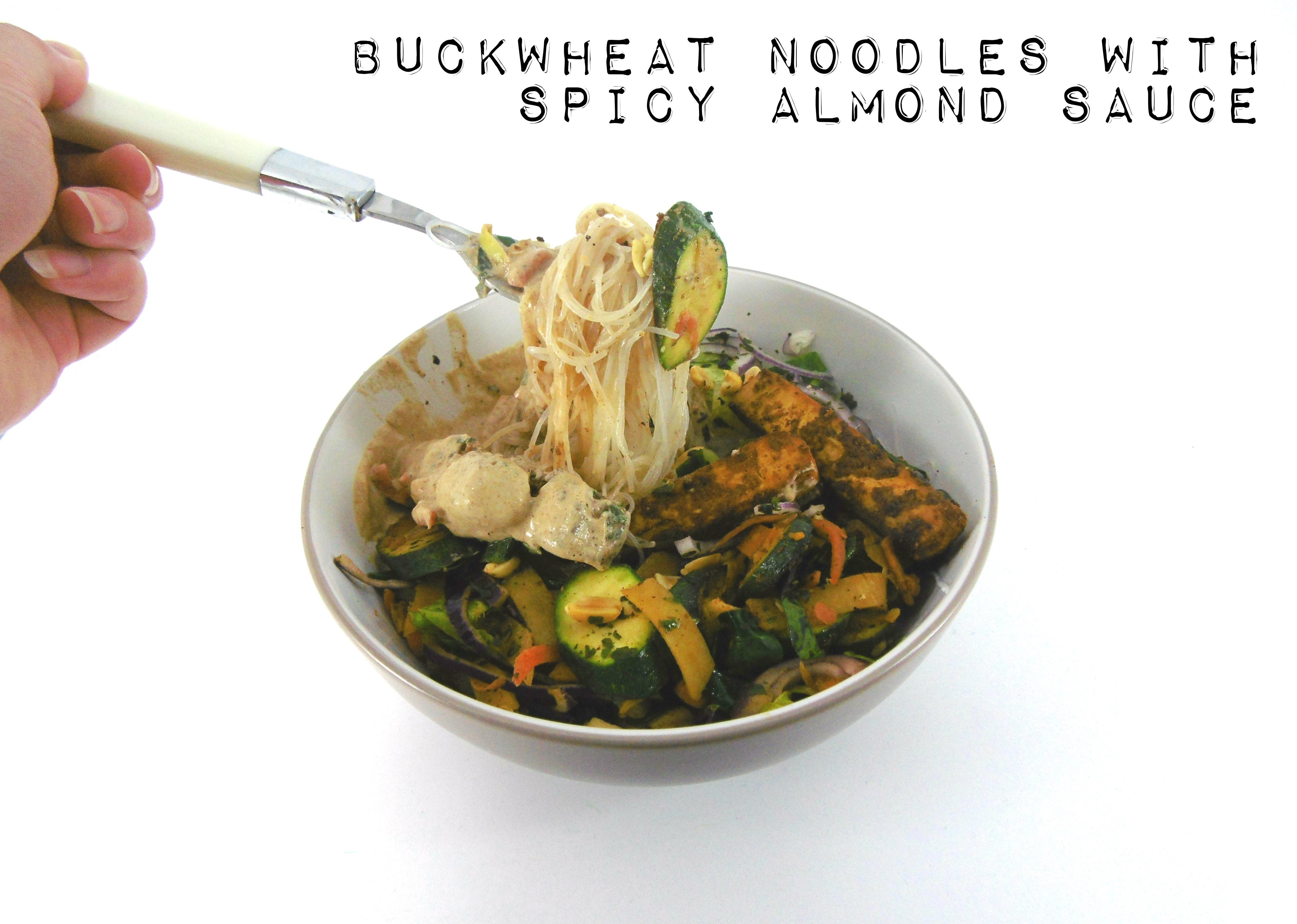 The Long Awaited Crave, Eat, Heal Blog Tour: Review, Giveaway and Buckwheat Noodles with Spicy Almond Sauce Recipe!