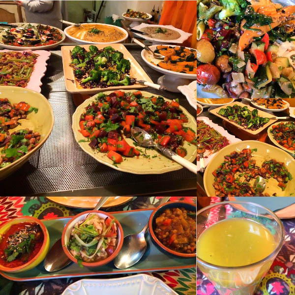 Vegan Food Across Four Continents