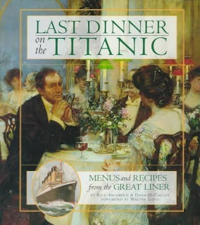Compete First Class Titanic Dinner Menu
