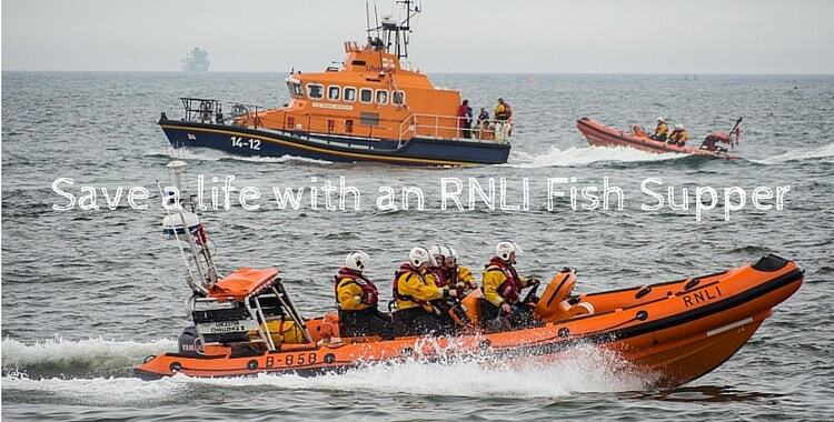 RNLI Fish Supper 2015: Help save a life