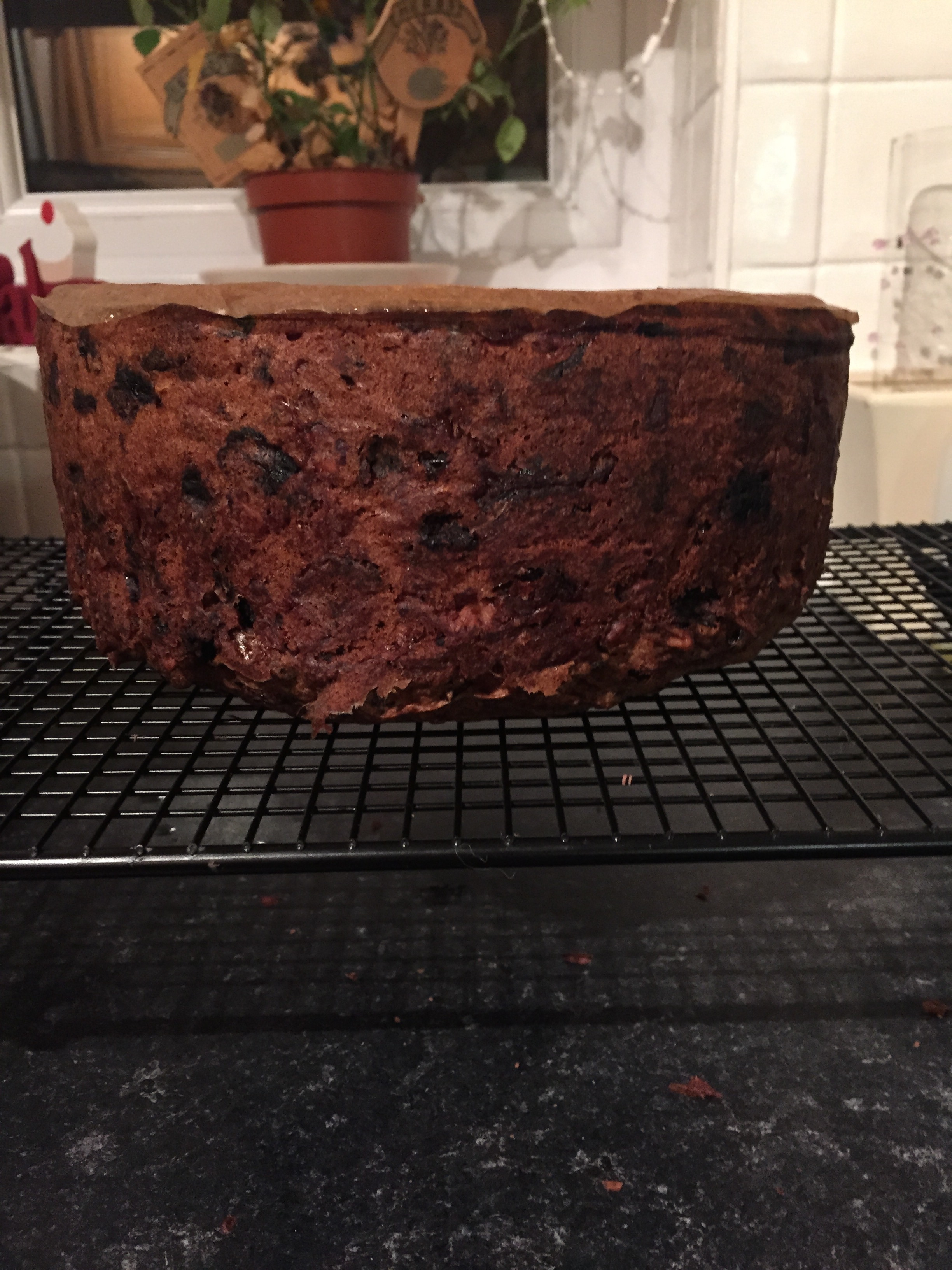My 2015 Gluten free Christmas cake inspired by Grandma