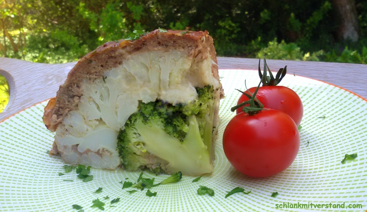low carb Blumenkohlbombe