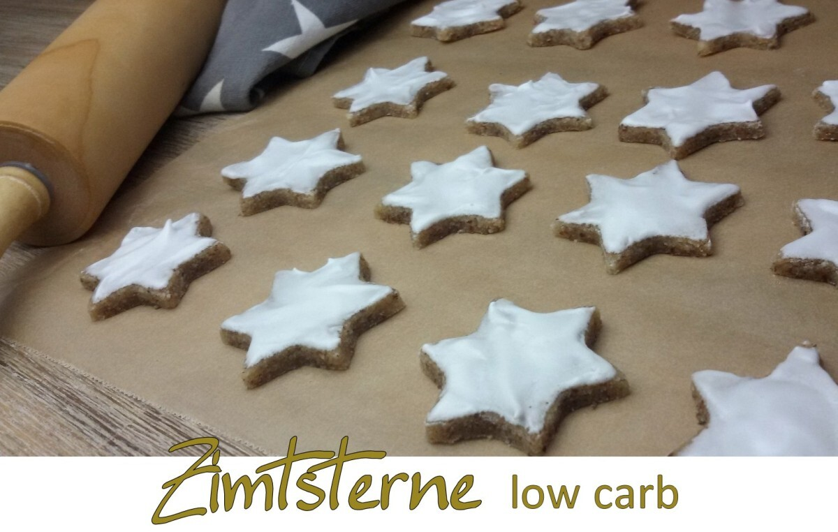 Zimtsterne low carb