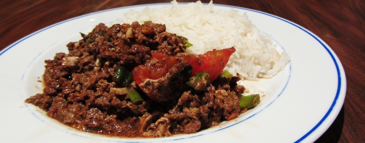 Beef and Egg stir Fry