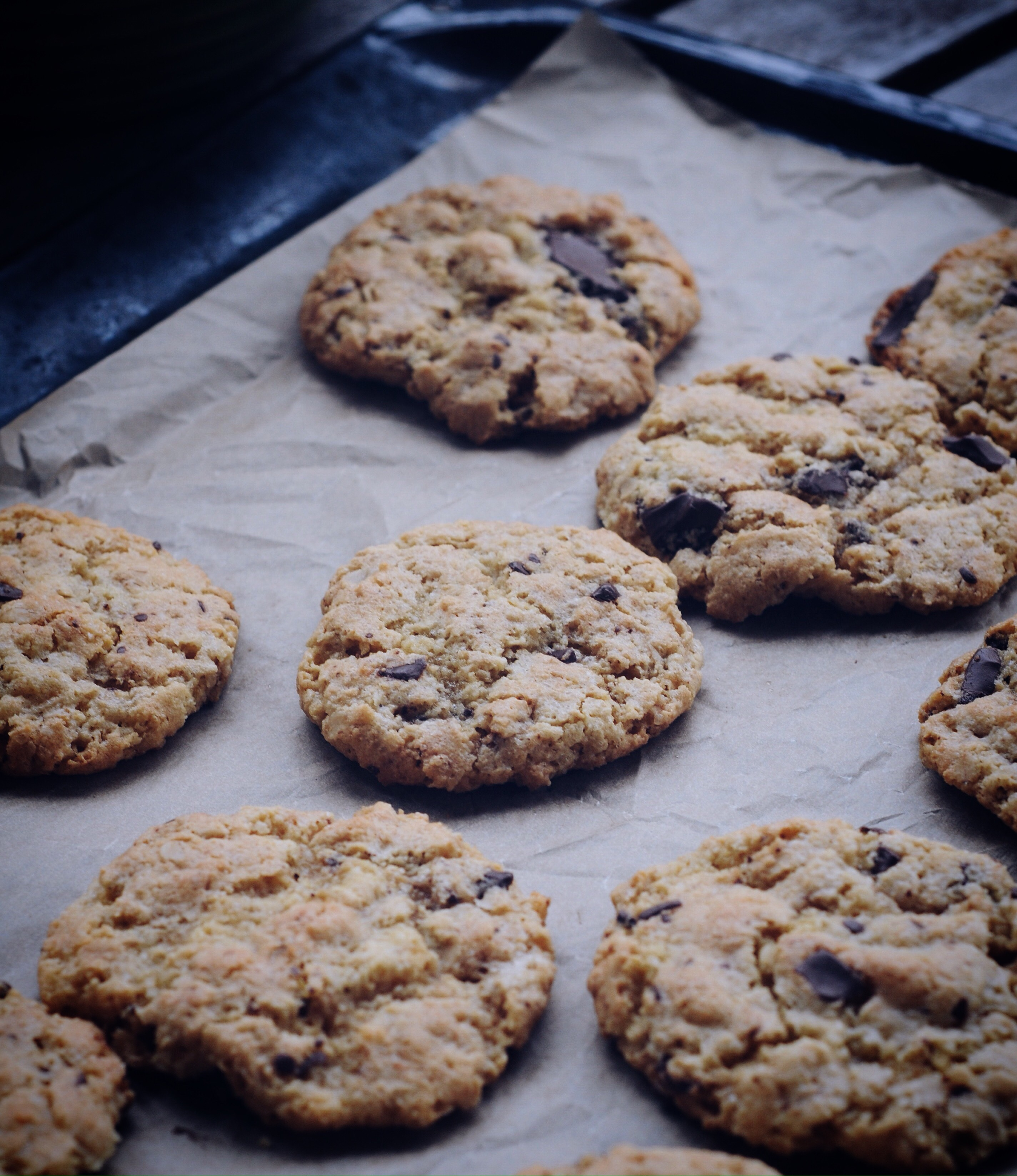 Glutenfria chocolatechipcookies