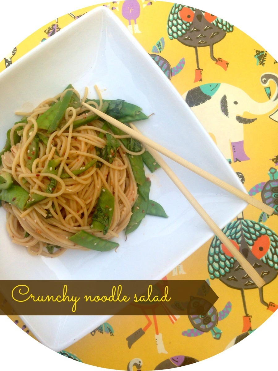 Noodle Salad with Crunchy Greens