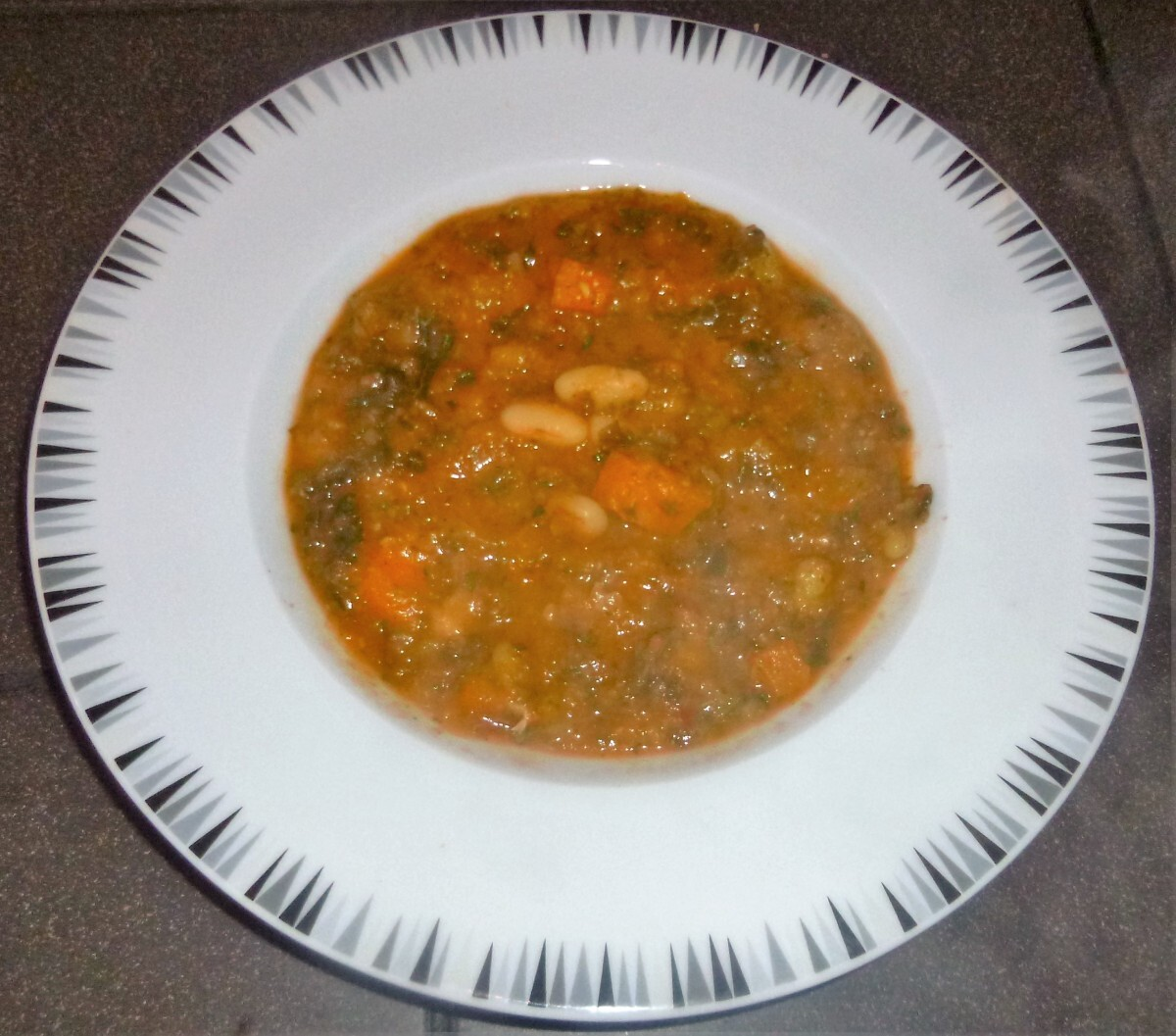 Healthy White Bean, Squash and Kale Soup Recipe