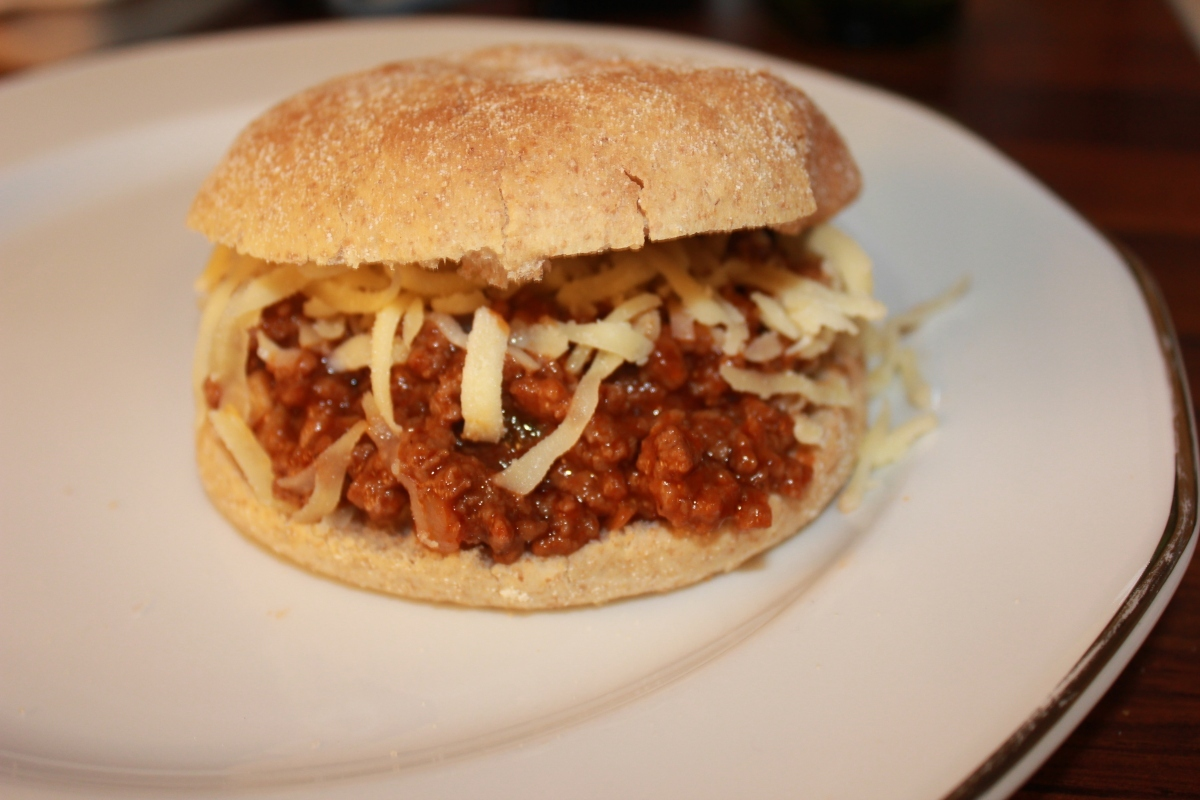 Sloppy Joe Hamburger