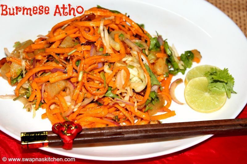 Atho-Burmese food