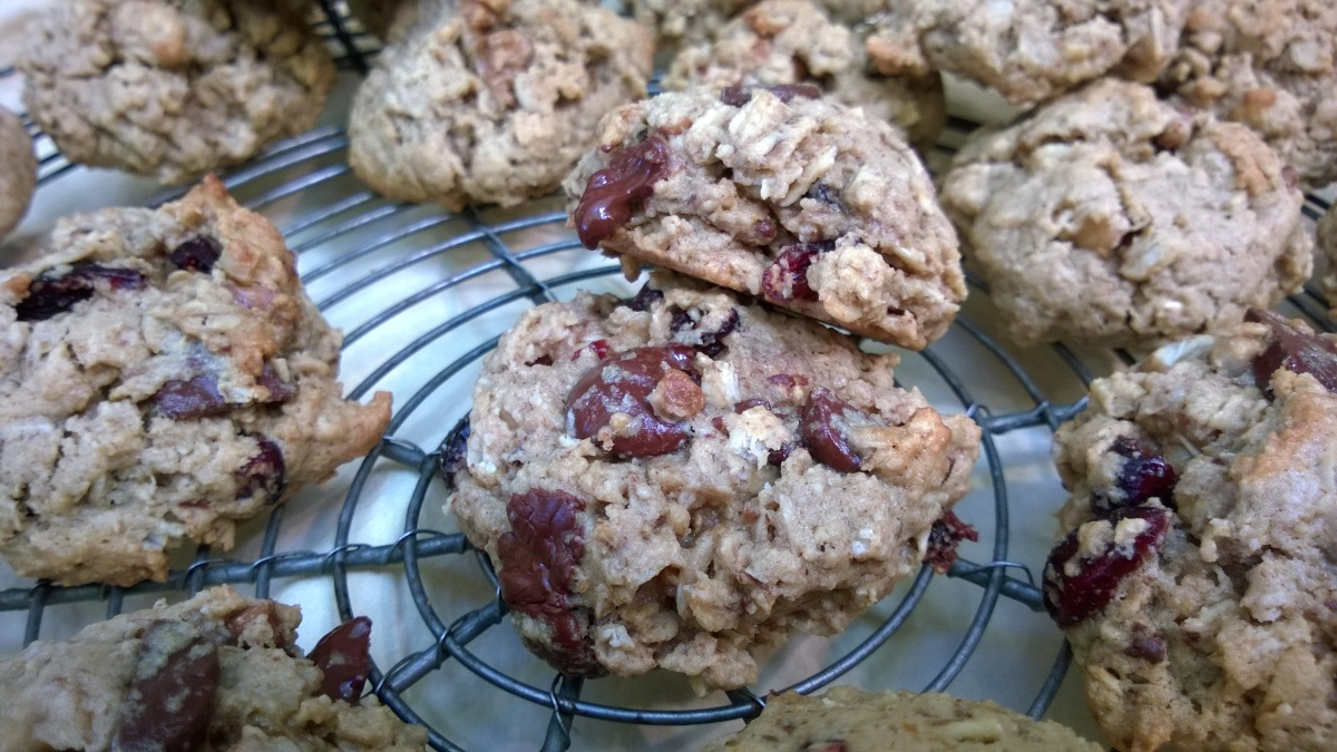 Soft & Chewy Oatmeal Cookies (gluten free)