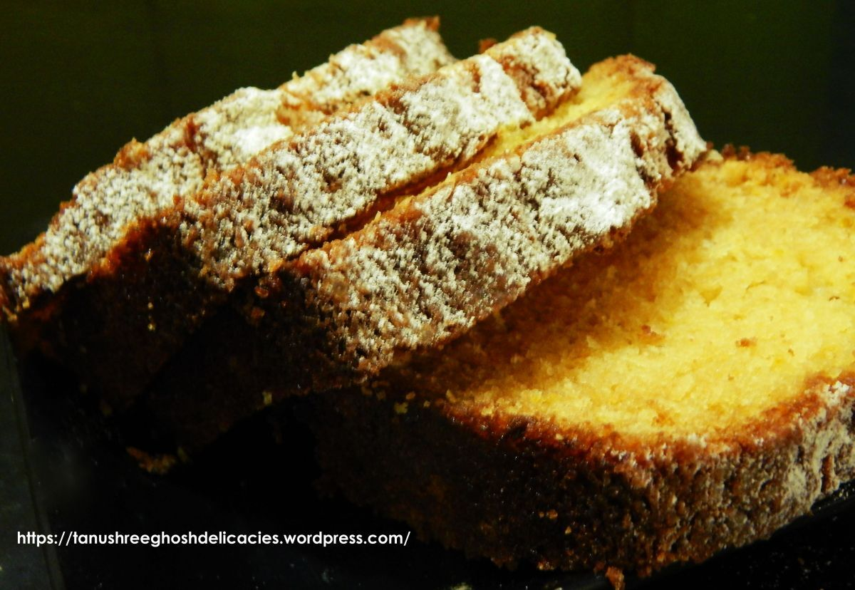 Simple Orange Loaf Cake