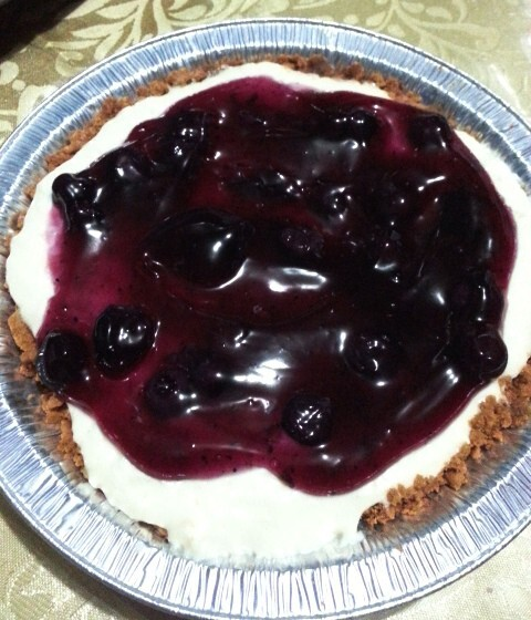 No-bake Blueberry Cheesecake (updated)