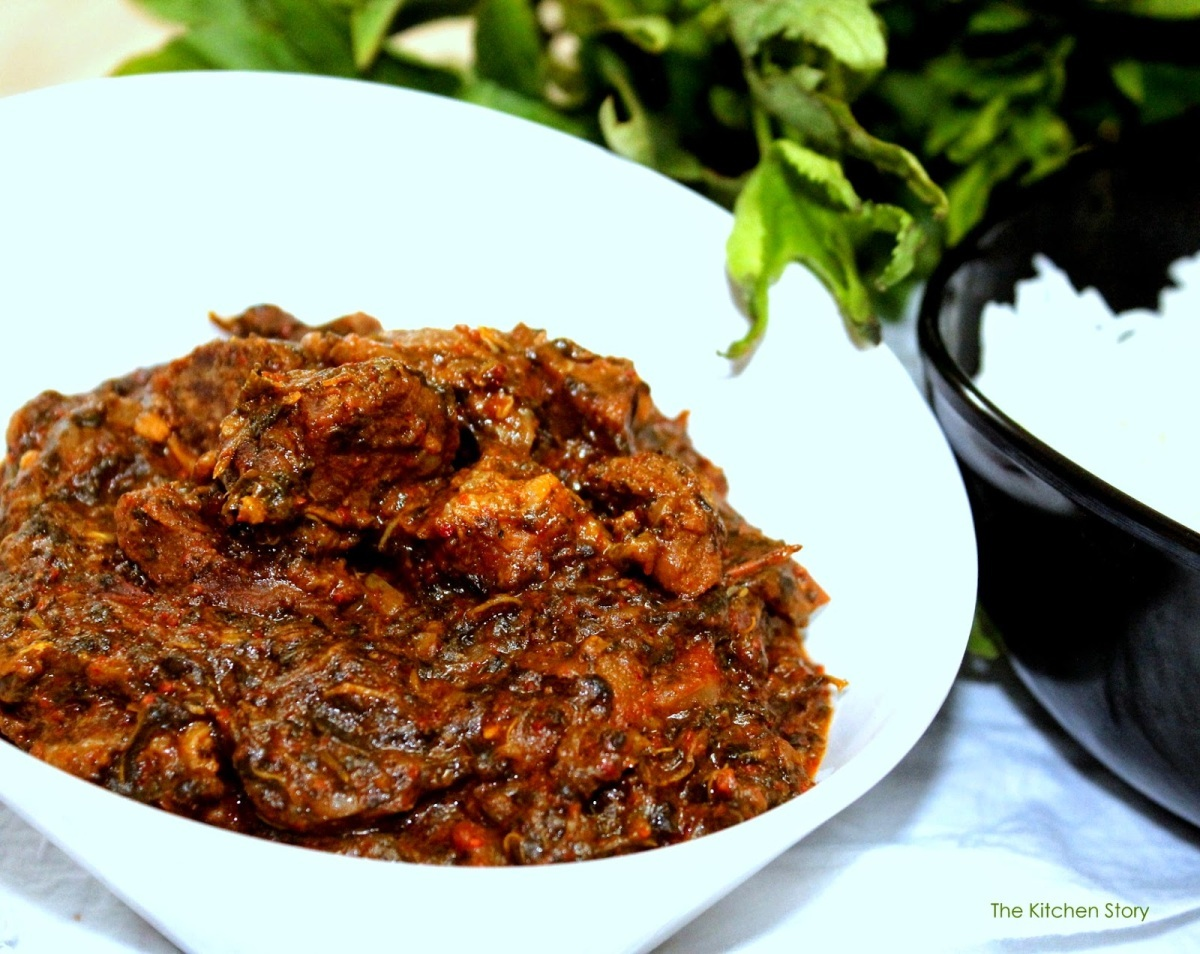 Gongura Mutton curry recipe