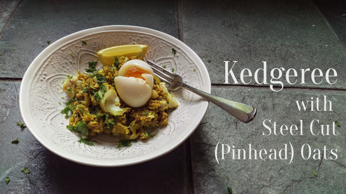 Kedgeree With Pinhead Oats