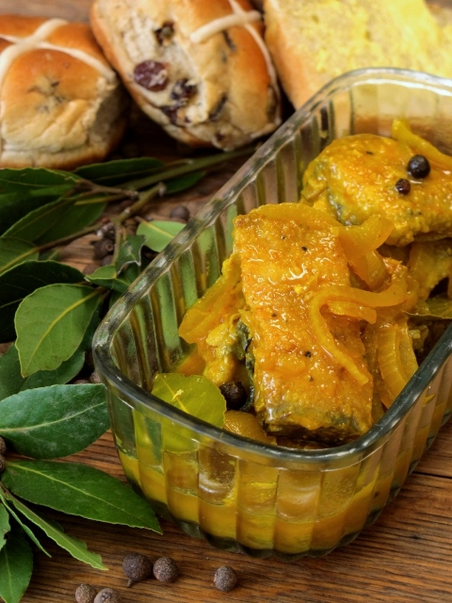 Cape malay pickled fish recipe from for Pickled fish recipe
