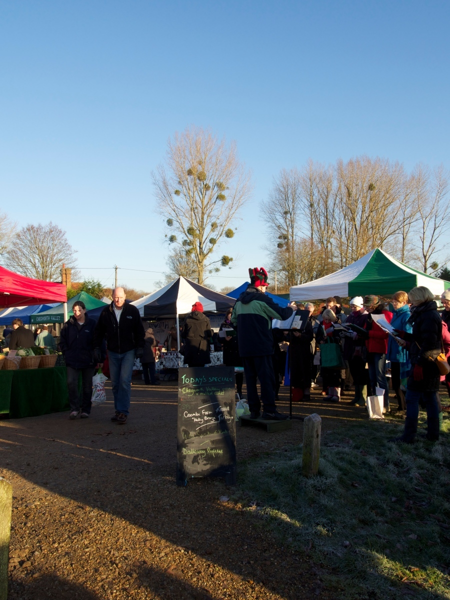 Jingle all the way to the farmers' market