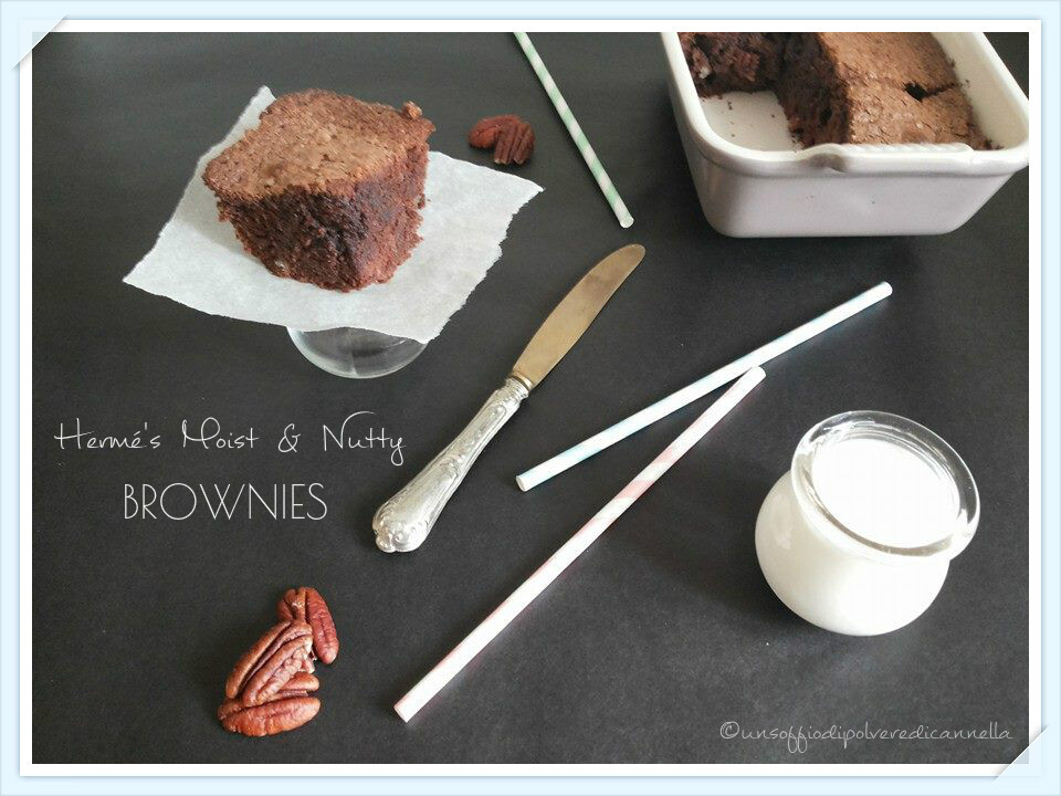 PIERRE HERMé'S MOIST & NUTTY BROWNIES