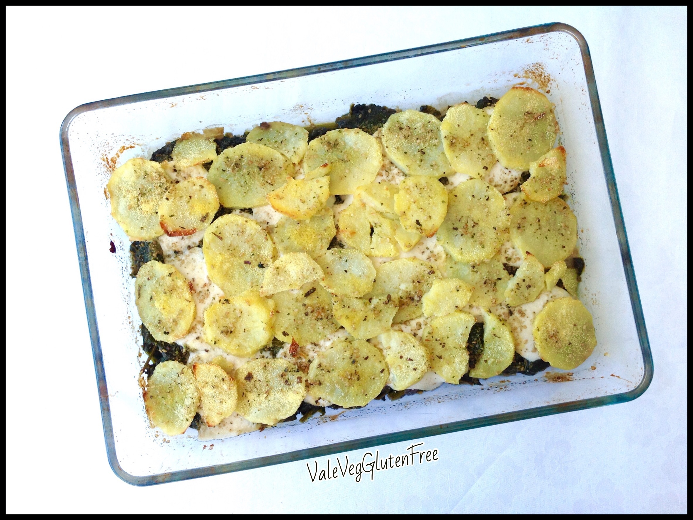 Cheesy Swiss chard and potatoes gratin / Gratinato formaggioso di bietole e patate