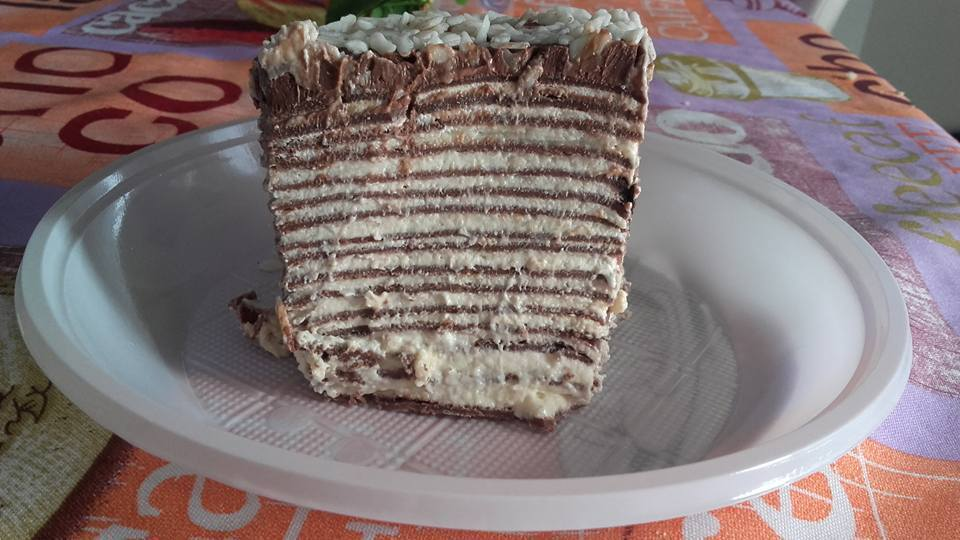 Torta mille crepes Bimby