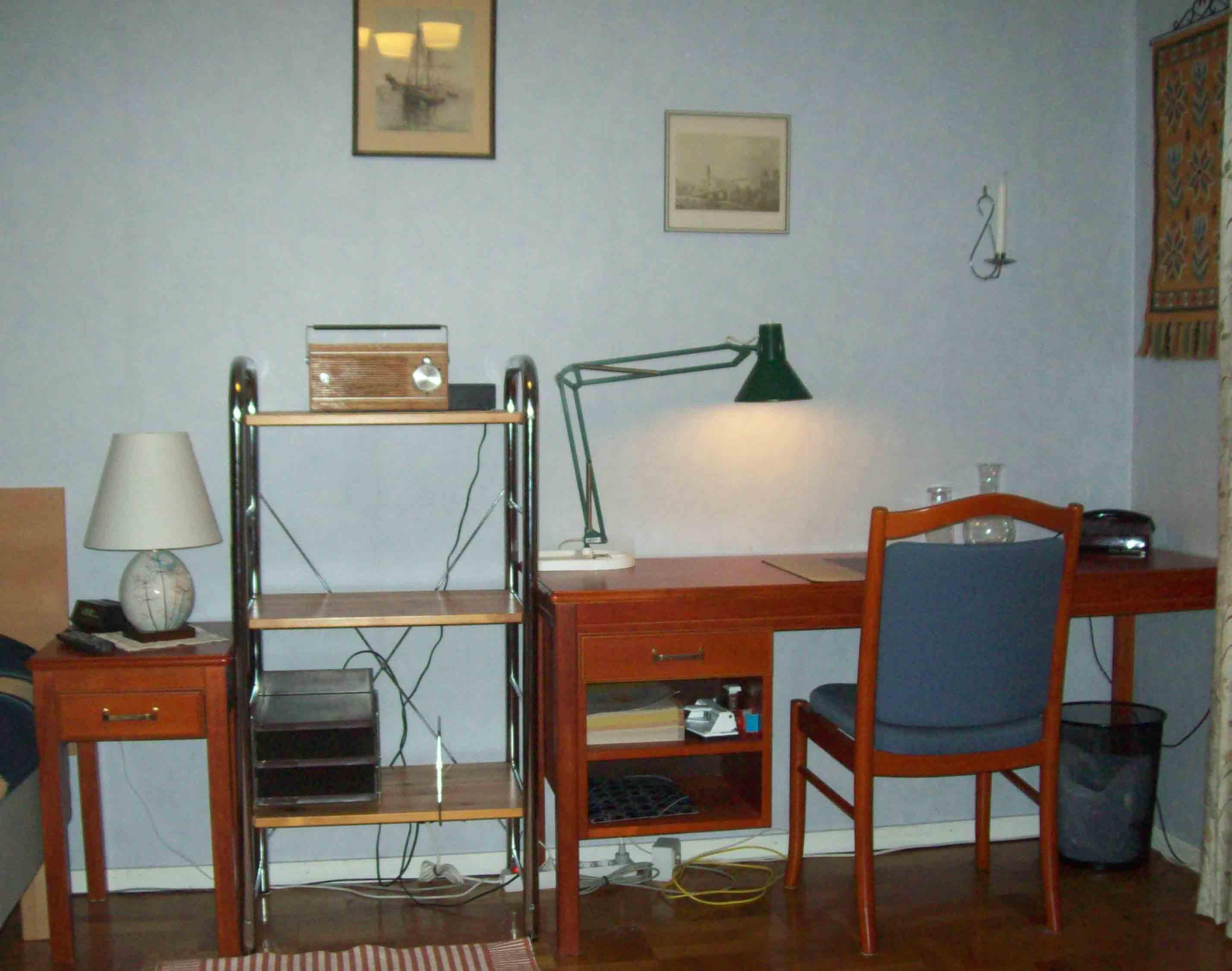 Möblerat rum centralt i Göteborg